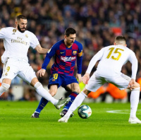 fussball fc barcelona real madrid lionel messi kar